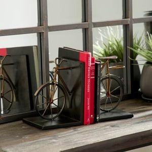 Carbon Loft Kellogg Metal Bicycle Bookend